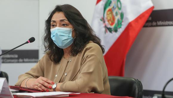 La titular de la PCM, Violeta Bermúdez,  informó que la Comisión de Alto Nivel viajará a Ica para instalar una mesa de diálogo que permita llegar a acuerdos. (Foto: Andina)