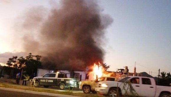 Fallece mujer que fue quemada por sicarios junto a sus hijos en Sonora. Foto: El Universal de México/ GDA