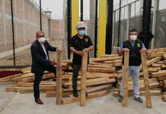 Tumbes: internos producirán nuevos artículos con más de 300 troncos de madera Guayacán y Zapote