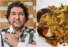 Gastón Acurio cuenta la romántica historia detrás del arroz con mariscos