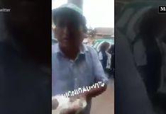 Atrapan a sujeto que intentaba robar víveres destinados a los afectados de Villa El Salvador