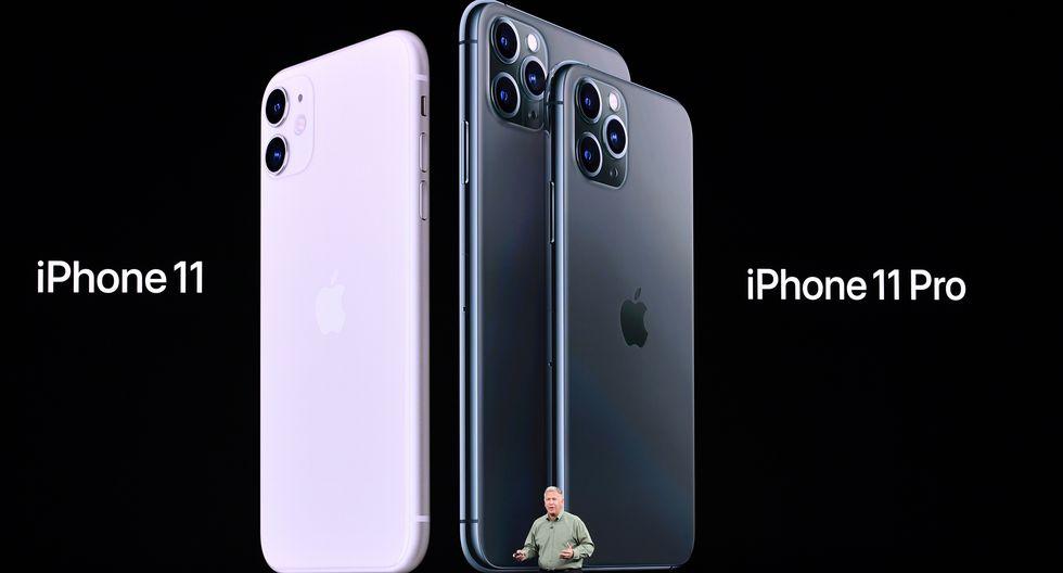 Apple ve una fuerte demanda de los modelos iPhone 11 y iPhone 11 Pro. (Foto: AFP)