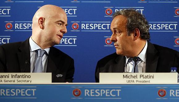 Gianni Infantino es presidente de la FIFA desde febrero del 2016. (Foto: AFP)