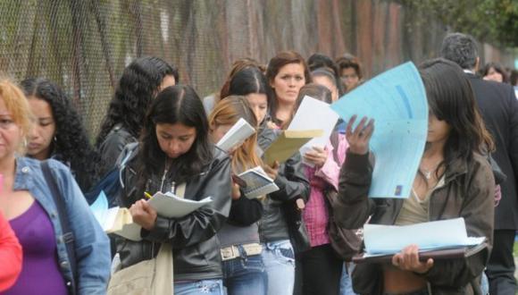 La tasa de desempleo juvenil asciende a 8,5%, informó el MTPE. (Foto: Archivo)