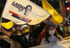 Júbilo en Ecuador tras la histórica victoria de Guillermo Lasso en las elecciones presidenciales | FOTOS