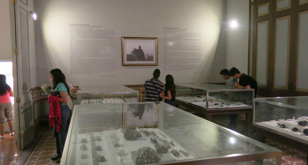 También se exhiben cerámicas, textiles y orfebrería prehispánica.(Foto: Museo Andrés Del Castillo)