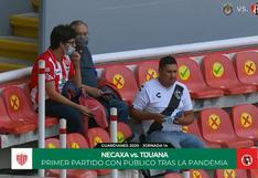 Necaxa vs. Tijuana: así fue la llegada del público al estadio Victoria luego de siete meses | VIDEO
