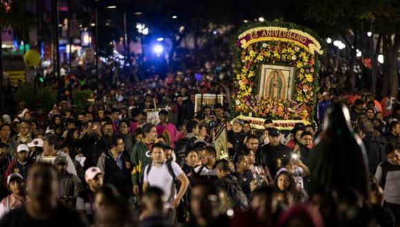 Millones de mexicanos viajan cada año a la Basílica de Guadalupe, en el norte de Ciudad de México. (Getty Images vía BBC)