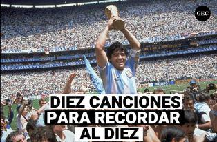 10 canciones dedicadas a Maradona