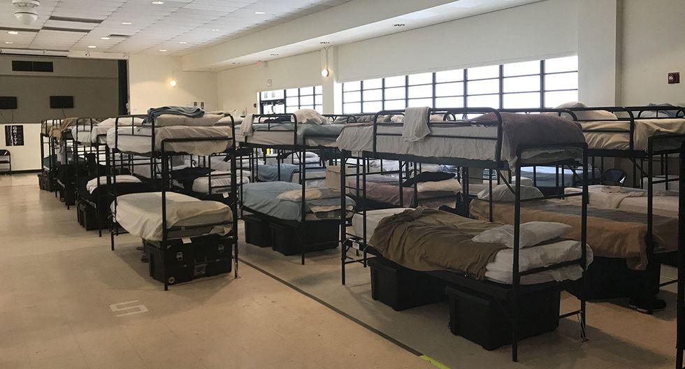 Refugio Temporal de Homestead para niños inmigrantes no acompañados, en Florida. (Foto: EFE)