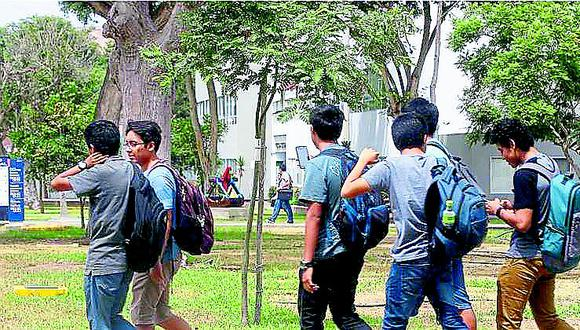 Buscan que se bajen las pensiones en universidades por clases virtuales. (Foto: GEC)