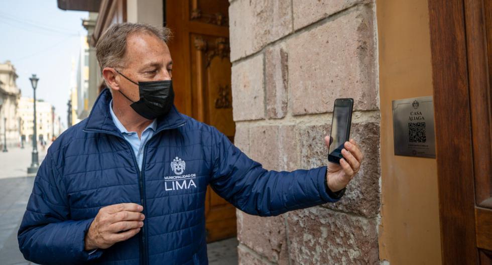 El alcalde de Lima, Jorge Muñoz, comentó que esta iniciativa forma parte de un proceso de recuperación del Centro Histórico de Lima, en el marco del bicentenario patrio. (Foto: Cortesía Municipalidad de Lima)