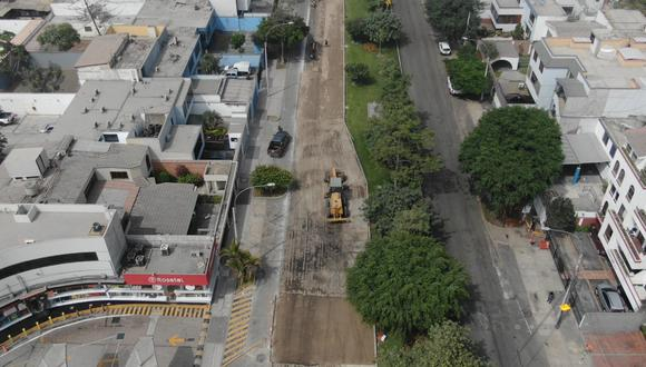 Aquellos que se desplacen por esta zona deberán seguir el plan de desvío establecido por el municipio. Foto: Difusión