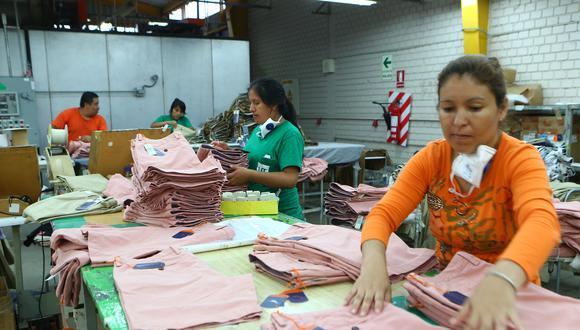 Los créditos en el sector manufactura crecieron 10.6%. (Foto: Martín Herrera | GEC)