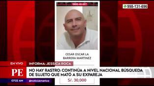 Continúa la búsqueda a nivel nacional de sujeto que mató a su expareja e hija