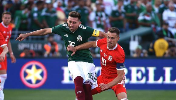México y Gales igualaron en amistoso previo al Mundial. (Foto: AFP)
