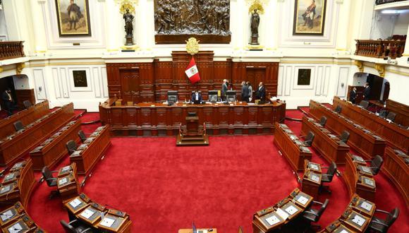 El Parlamento aprobó un nuevo sistema de votación en el pleno tras el pronunciamiento del TC sobre el procedimiento legislativo actual. (Foto: Congreso)