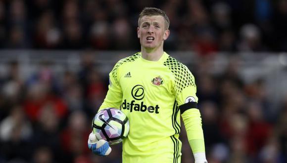 Everton fichó al guardameta Pickford por una cifra récord para un portero inglés. (Foto: AFP)
