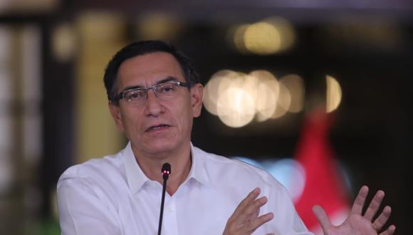 El presidente Martín Vizcarra ofrecerá pronunciamiento en el día 42 de la cuarentena. (Foto: Presidencia Perú)