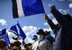 """""""Me siento feliz"""": Victoria de Arce devuelve la alegría a simpatizantes de Evo Morales en Bolivia   FOTOS"""