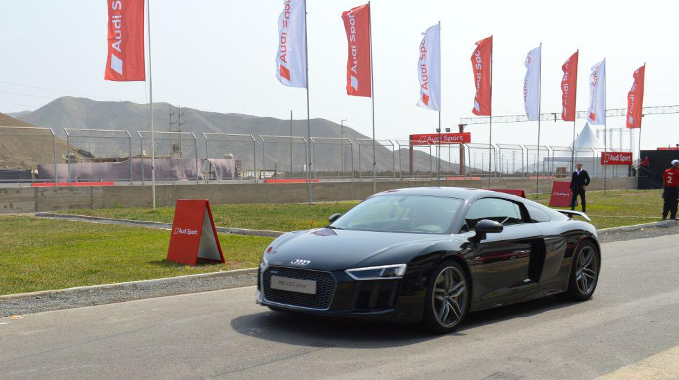 """Audi R8: el vehículo deportivo de la marca alemana aparece en la saga """"Rápidos y Furiosos"""". Tiene un motor V10 de 610 Hp y alcanza una velocidad de 316 km/h. Su precio en el Perú bordea los US$220.000. (Fotos: Audi)"""