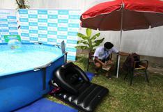 Pandemia de la COVID-19 impulsa la venta piscinas inflables