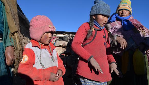 En Puno, las heladas causan estragos entre los menores y los adultos mayores. Por ello, urge que la ayuda llegue antes que el mal tiempo. (Foto: archivo El Comercio)