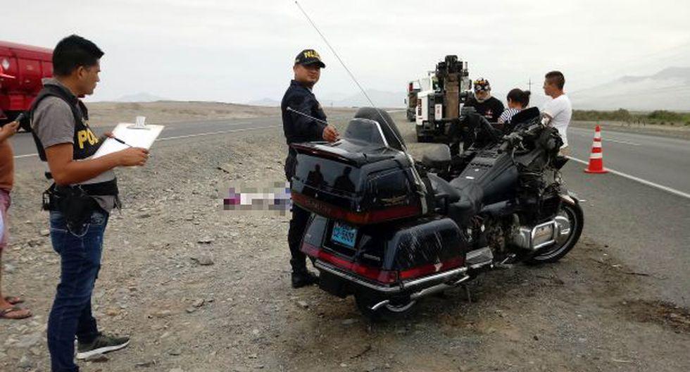 La Libertad: accidente en la Panamericana Norte deja un fallecido y un herido
