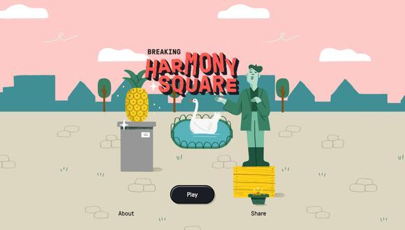 Harmony Square está disponible de manera gratuita en PC. (Captura de pantalla)