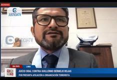 Ronald Atencio continúa ejerciendo la defensa de Bermejo pese a ser contratado por ministro del Interior