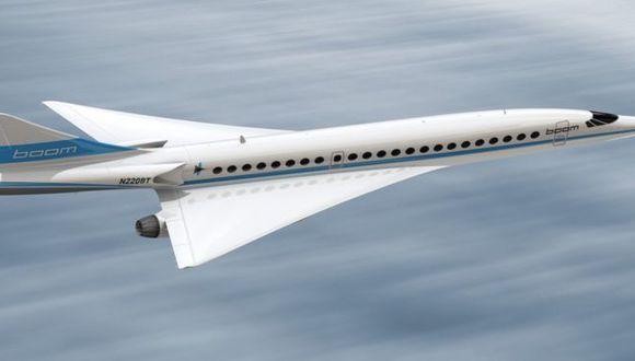 Según Boom, el modelo Supersonic de Boom tendrá 55 asientos y conectará Londres y Nueva York en 3 horas y 15 minutos.