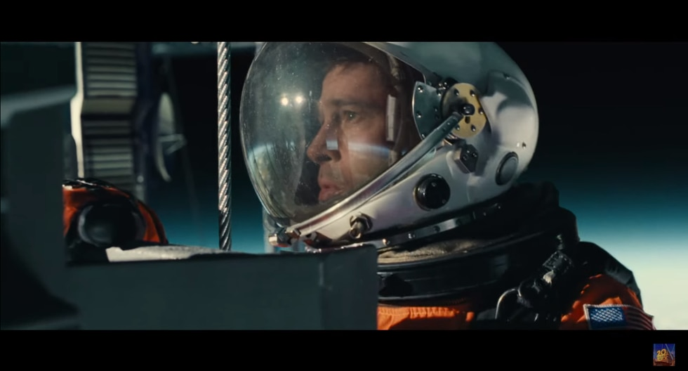 """Brad Pitt en """"Ad Astra"""".  (Foto: 20th Century Fox)"""