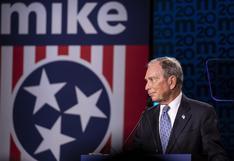 US$400 millones gastados en 4 meses y otras claves de la millonaria campaña de Michael Bloomberg