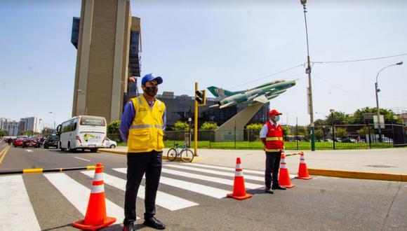 La Municipalidad de Lima informa que el tránsito en algunas vías del distrito queda restringido hasta el jueves 10 de junio. (Foto: Municipalidad de Jesús María)