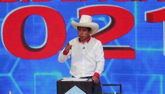 Pedro Castillo, candidato presidencial de Perú Libre, inició sus actividades de campaña de cara a la segunda vuelta electoral   Foto: El Comercio