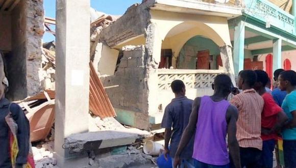 El terremoto de magnitud 7,2 del sábado en Haití deja más de 700 muertos. (Reuters).