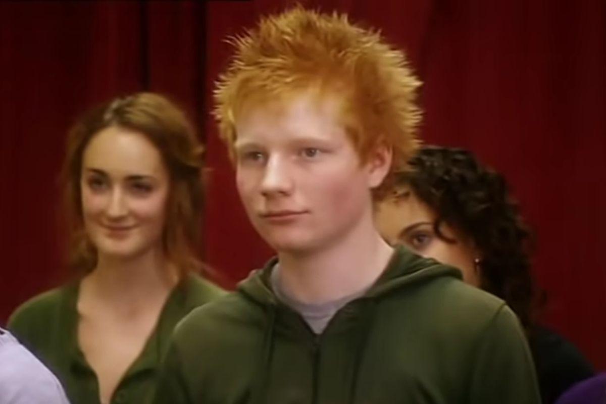 Ed Sheeran ran on reality TV