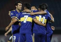 Boca Juniors, con doblete de Salvio, venció a Libertad por la Copa Libertadores