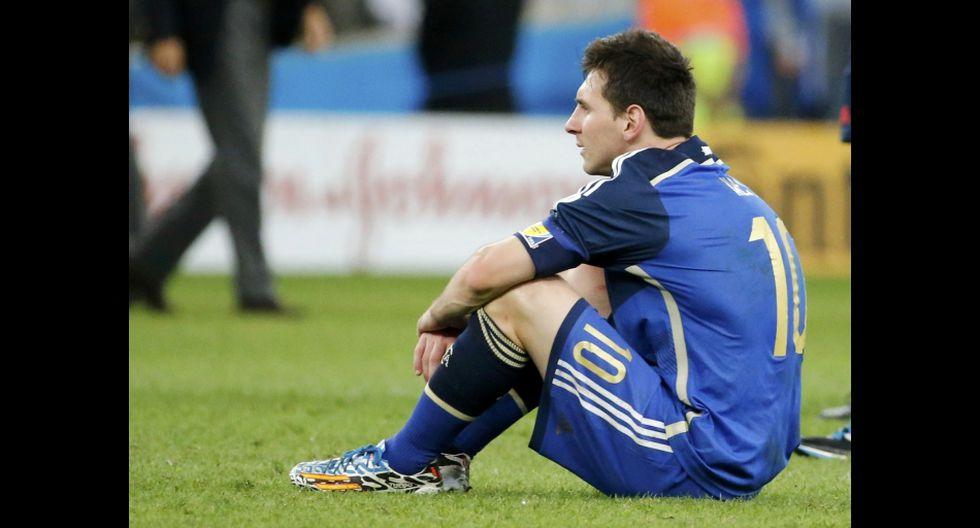 La tristeza y decepción de Messi luego de perder el Mundial - 2