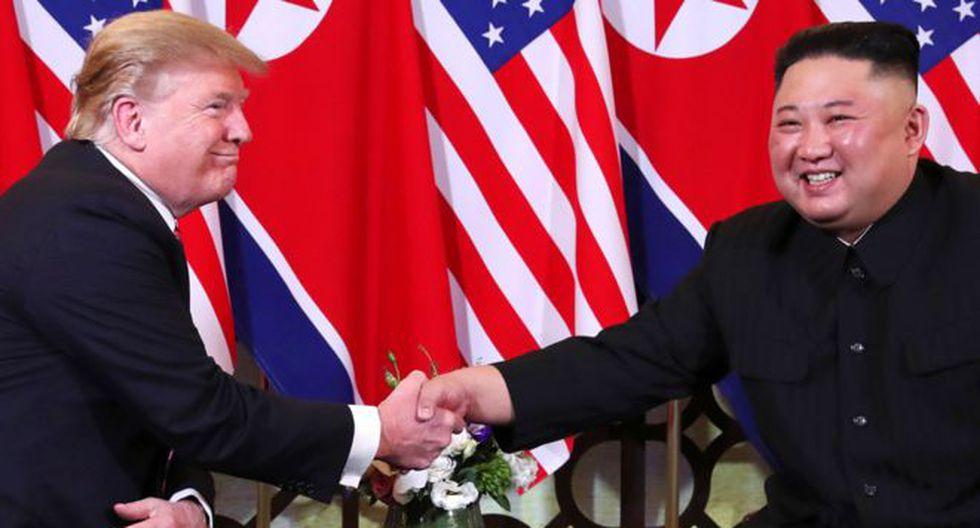 La reunión en Hanoi entre Kim Yong-un y Donald Trump es la segunda desde su histórica cumbre en Singapur el año pasado. En esta continuarán debatiendo la desnuclearización. (Foto: Reuters)