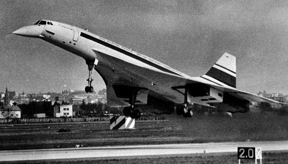 El Concorde en 1969. (Foto: Wikimedia Commons)