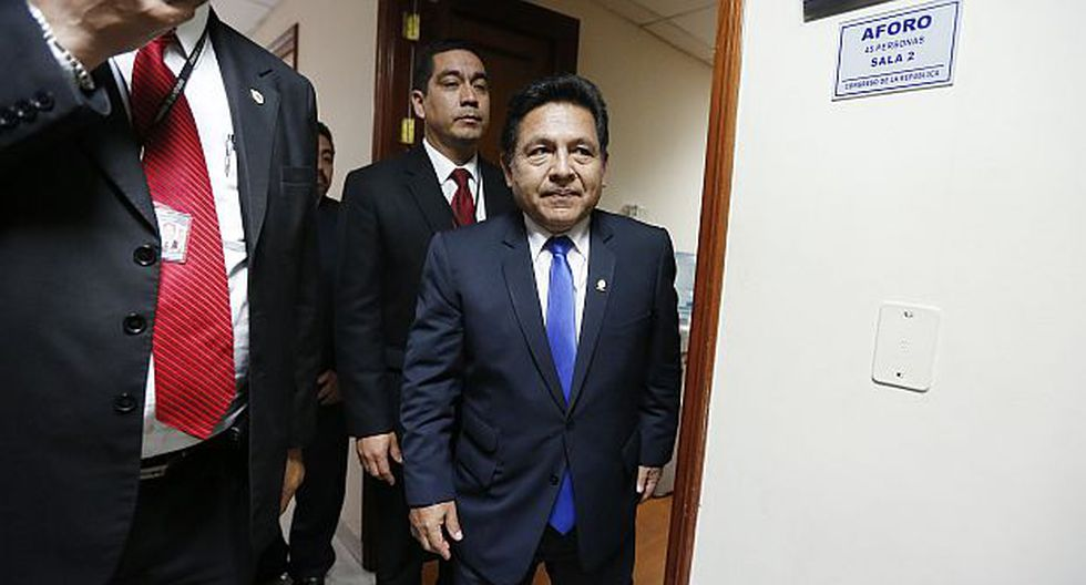 Ramos Heredia fue citado al Congreso por compra de golosinas