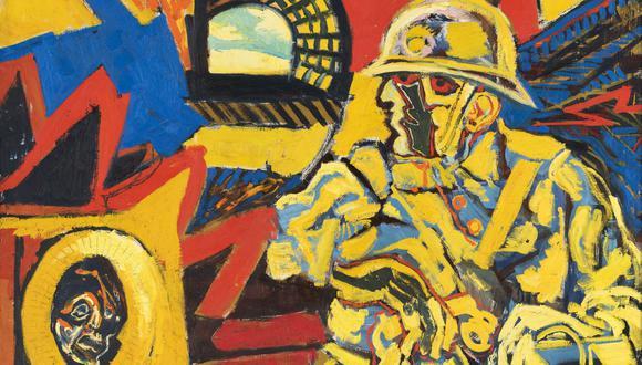 Obra del pintor David Herskovitz quien falleció a los 95 años en Arequipa.