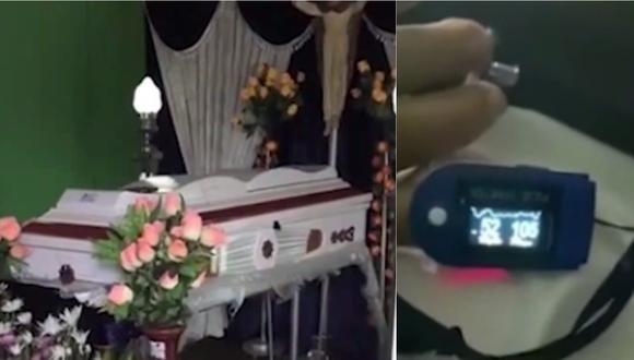 Familiares han denunciado una presunta negligencia médica en la región San Martín. (Foto: captura de video)
