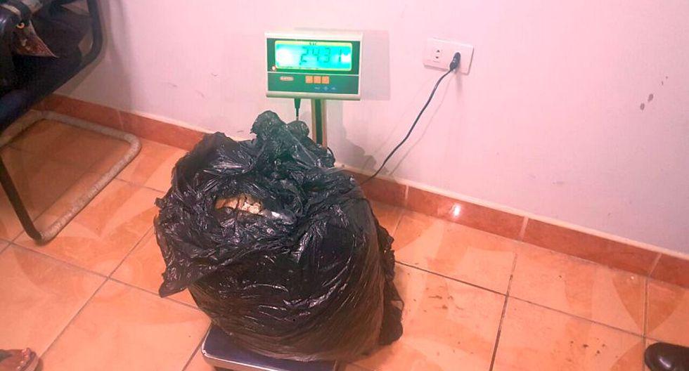 La Pasta Básica de Cocaína está valorizada en aproximadamente US$ 382 el kilo. (Foto: Cortesía)