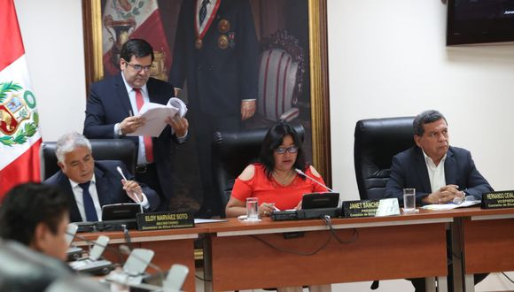El congresista Héctor Becerril (Fuerza Popular) no se hizo presente en la Comisión de Ética. (Foto: Rolly Reyna / GEC)