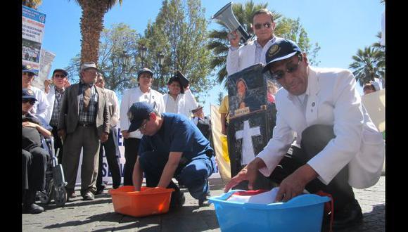 Arequipa: huelga médica impidió 80% de operaciones programadas