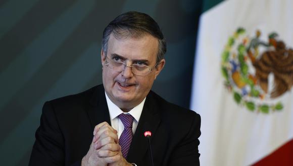 El canciller de México, Marcelo Ebrard, será candidato en las elecciones presidenciales del 2024. (EFE/José Méndez).