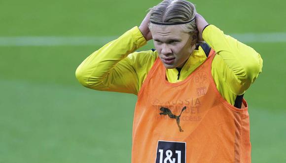 El director deportivo de Borussia Dortmund habló sobre el futuro de Erling Haaland. (Foto: AP)