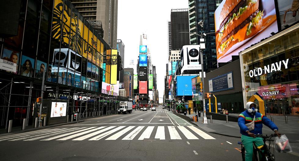 Con mas de 14.000 muertes solo en este estado, Nueva York es el epicentro de la pandemia en Estados Unidos. Foto: Johannes EISELE / AFP
